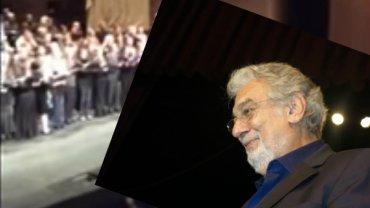 Orkiestra w Metropolitan Opera pod batutą Placido Domingo odegrała hymn Francji