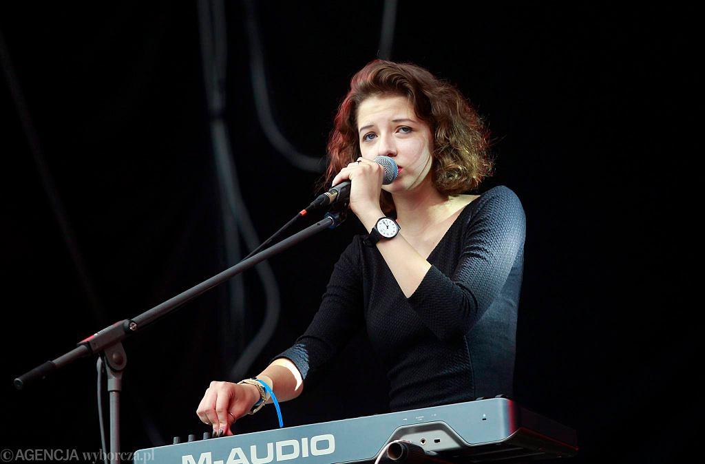 Justyna Święs, wokalistka The Dumplings / Justyna Święs, wokalistka The Dumplings/DAWID CHALIMONIUK
