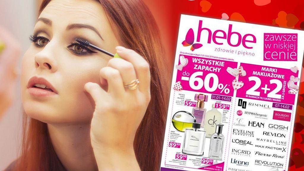 Hebe 2+2 luty 2019 - nowa promocja na marki makijażowe