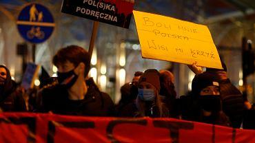 21.11.2020. Strajk Kobiet w Łodzi
