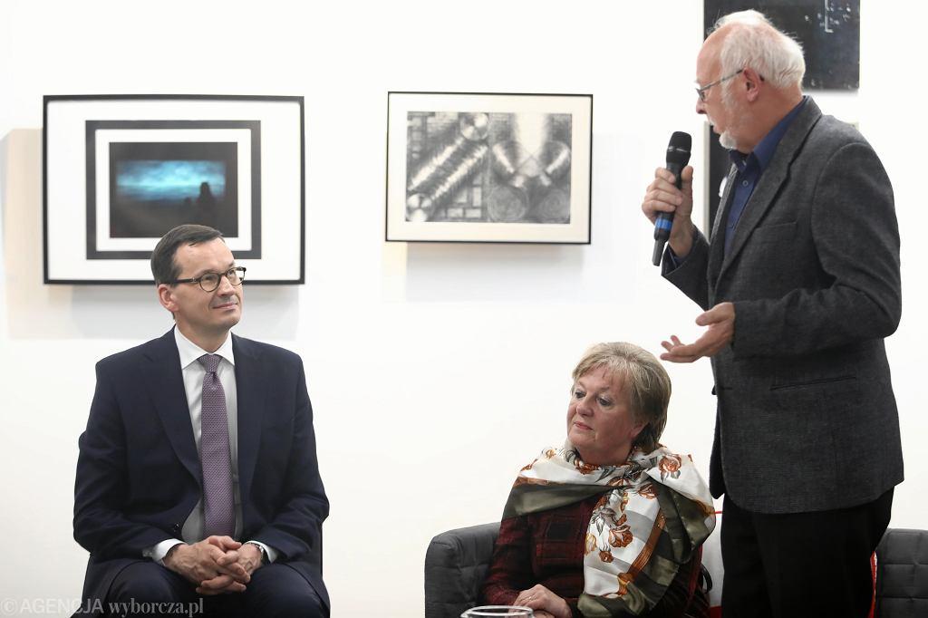 :Spotkanie premiera Morawieckiego z seniorami w Myslenicach