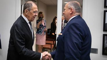 Zbigniew Rau spotkał się z Siergiejem Ławrowem