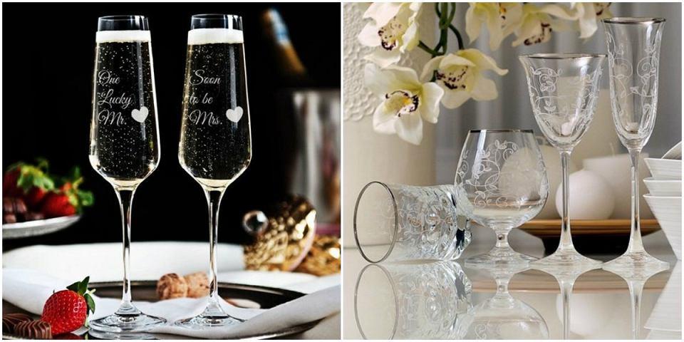 Kieliszki na szampana