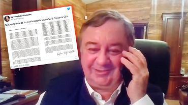 Żona Daniela Stefańskiego odpowiada na oświadczenie Cracovii
