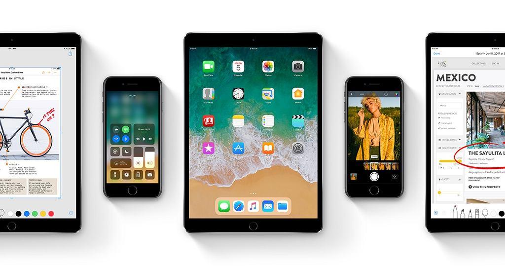 Zmiany w iOS11