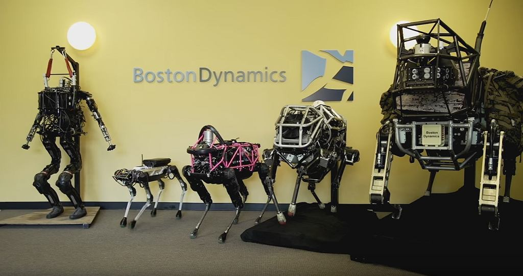 Roboty Boston Dynamics