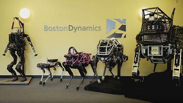 Roboty Boston Dynamics