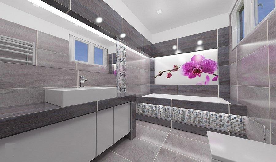 Obraz na szkle w łazience