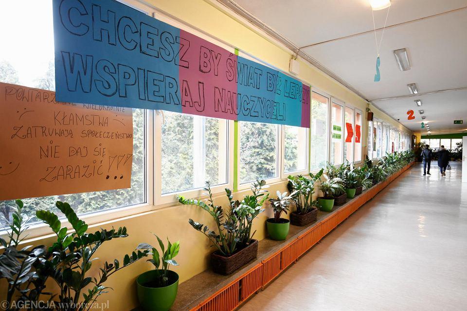 Szkoła Podstawowa nr 2 w Krakowie: przygotowania do strajku