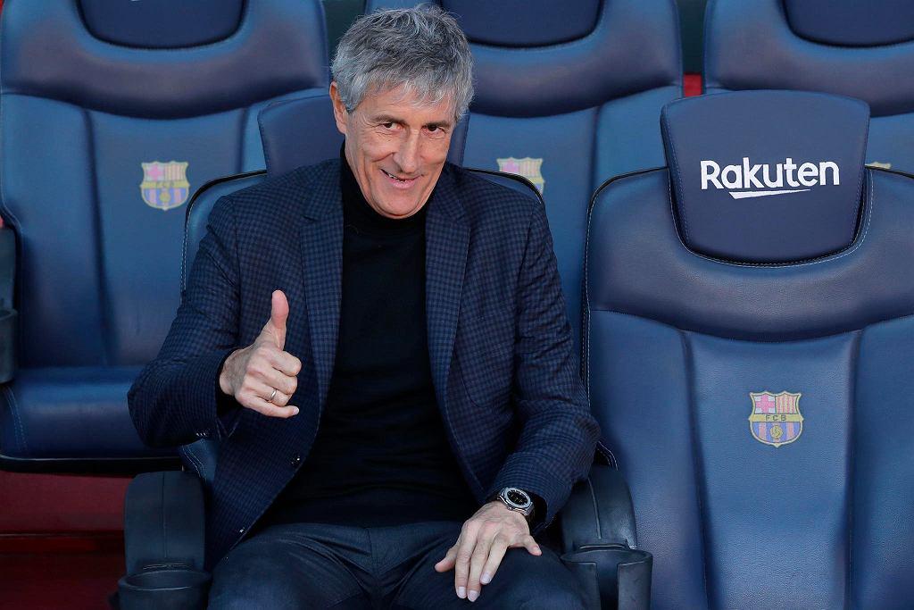Quique Setien, nowy trener Barcelony