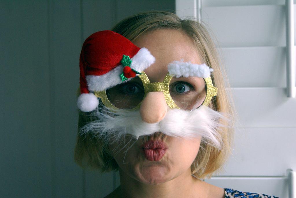 A jeśli nie macie tych dziesięciu minut na poprawki w makijażu, zawsze możecie założyć maseczkę. Ho! Ho! Ho! (fot. ML)