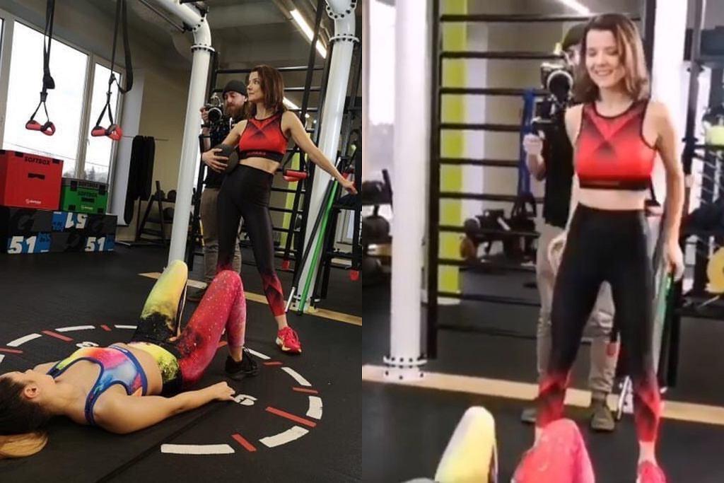 Joanna Jabłczyńska - trening