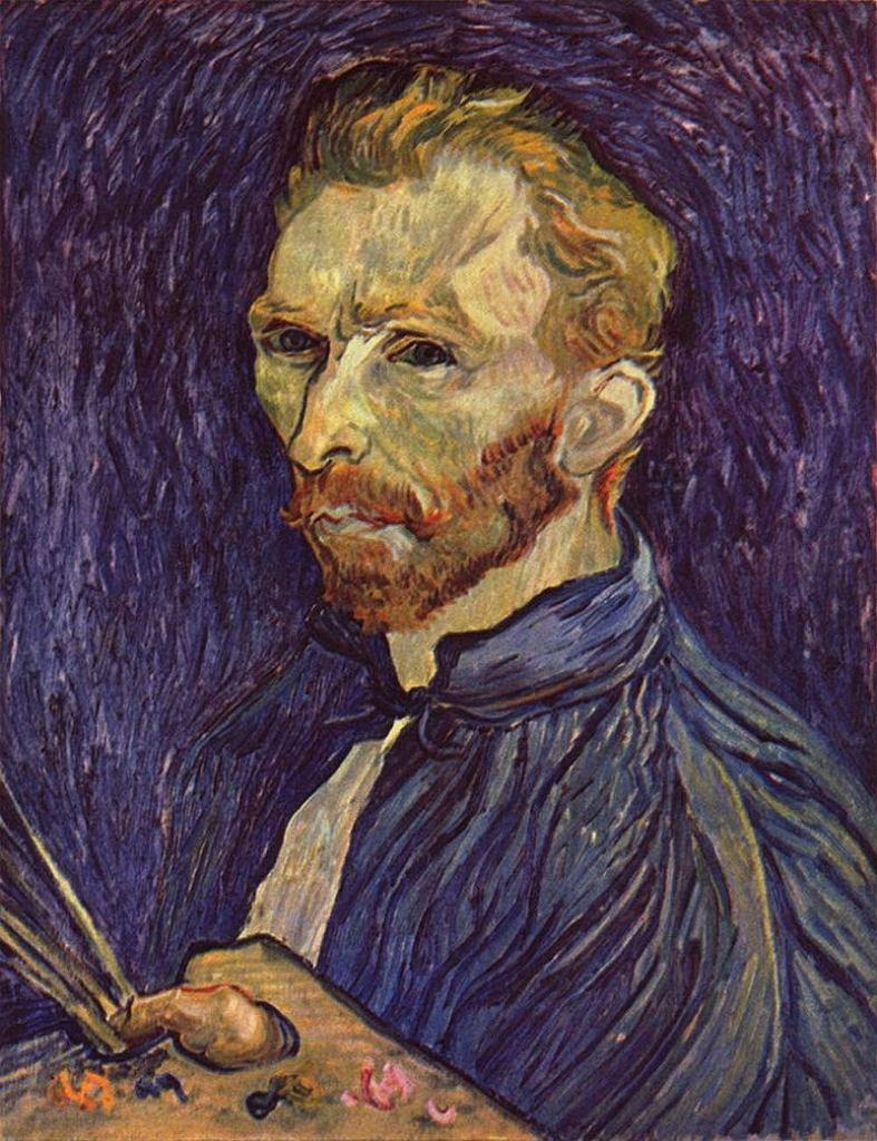 Vincent van Gogh. Autoportret (F 626), 1889 / Domena publiczna / National Gallery of Art w Waszyngtonie