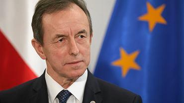 Marszałek Senatu Tomasz Grodzki. Warszawa, 22 stycznia 2020