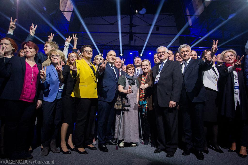 Konwencja wyborcza Koalicji Europejskiej.