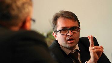 Zbigniew Girzyński jeszcze jako poseł PiS w 2011 r.