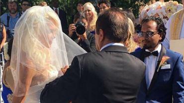 Ślub Iwony Burnat
