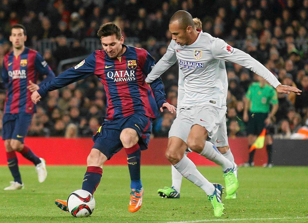 Leo Messi i Joao Mirando
