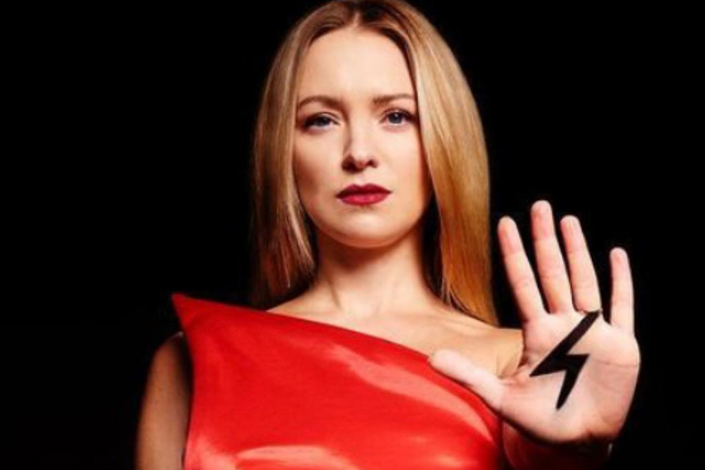 Barbara Kurdej-Szatan wspiera Strajk Kobiet