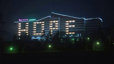 Pandemia koronawirusa. Zamknięty (w lockdownie) hotel Kasprowy. Zakopane, 30 stycznia 2020