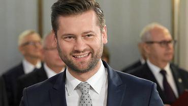 Kamil Bortniczuk, poseł Porozumienia należący do klubu PiS