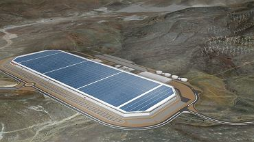 Tak wyglądać będzie Gigafactory
