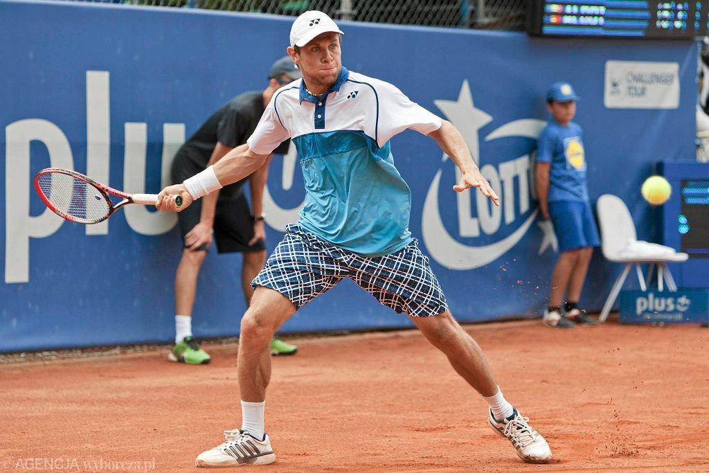 Finał turnieju Poznań Open. Radu Albot