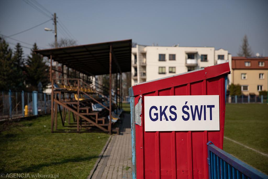 Boisko Gazowego Klubu Sportowego Świt w Warszawie