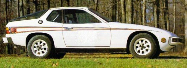 Porsche 924 Martini Rosso