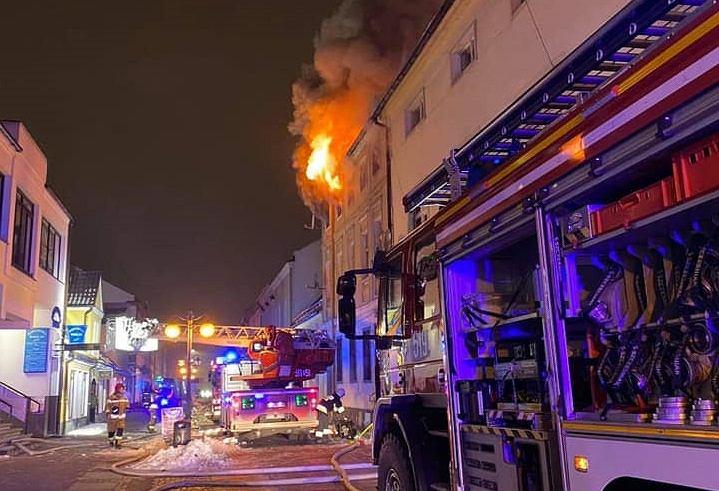 Pożar w Nowym Tomyślu
