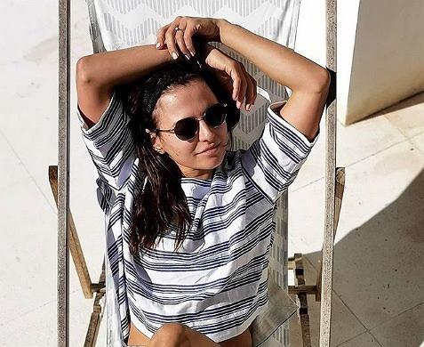 Anna Lewandowska zapowiada kolejny projekt w seksownym bikini. Fani: 'Hot!'