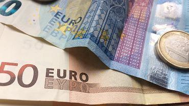Banknoty i monety euro