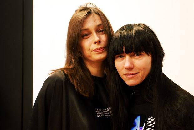 17.04.2009 Warszawa N/z Renata Dancewicz i jej fryzjerka Jaga Hupalo  fot. Stach Antkowiak/REPORTER