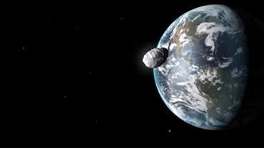 Asteroida Bennu na ilustracji NASA