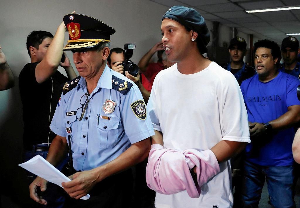 Ronaldinho w rękach paragwajskich służb