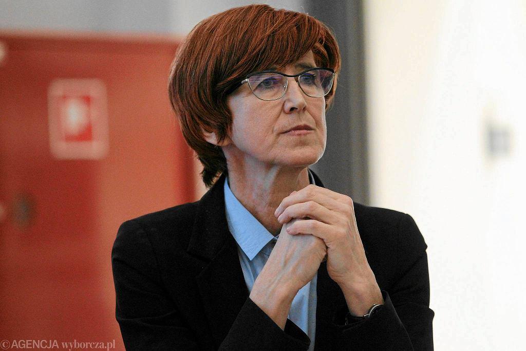 Minister Rodziny Pracy i Polityki Społecznej Elżbieta Rafalska