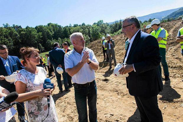 Budowa nowego odcinka zakopianki Lubień-Rabka rozpoczęta