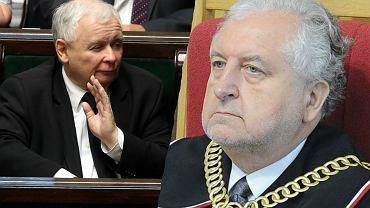 Jarosław Kaczyński i Andrzej Rzepliński
