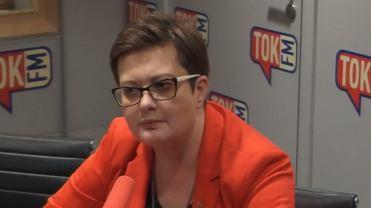 Katarzyna Lubnauer, przewodnicząca 'Nowoczesnej' w studiu radia TOK FM