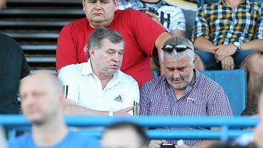 Ruch Chorzów - Legia Warszawa 0:2, Jan Benigier i Henryk, nowy prezes Śląskiego Związku Piłki Nożnej