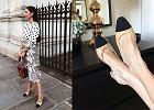 Czółenka z czarnym noskiem w stylu Chanel - klasyka znowu na topie