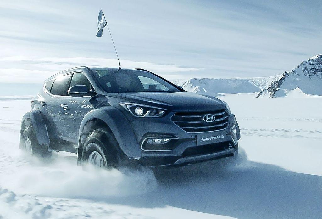 Hyundai Santa Fe   Wyprawa na biegun