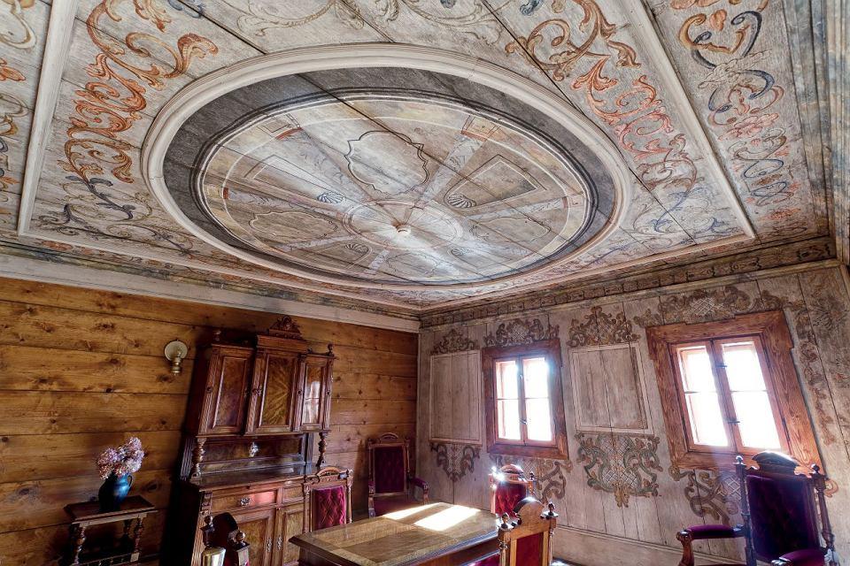 Polichromie z Muzeum Papiernictwa w Dusznikach-Zdroju