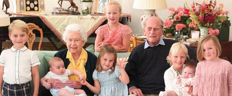 Pałac Buckingham opublikował prywatne zdjęcia rodziny królewskiej. Są prawnuki królowej Elżbiety II!