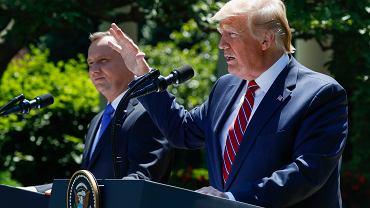Wizyta prezydenta Andrzeja Dudy w USA. Rozmowy z Donaldem Trumpem