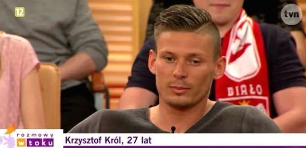 Krzysztof Król w programie 'Rozmowy w toku'