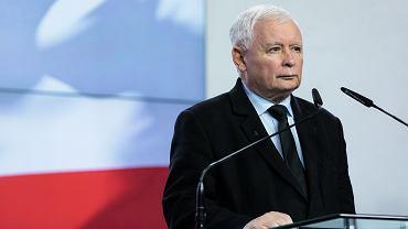 Przewodniczący PiS Jarosław Kaczyński