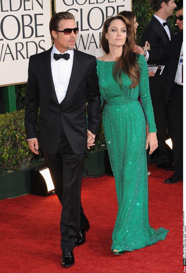 Brad Pitt i Angelina Jolie, Złote Globy 2011