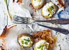 Młode ziemniaki nadziewane ricottą - ugotuj