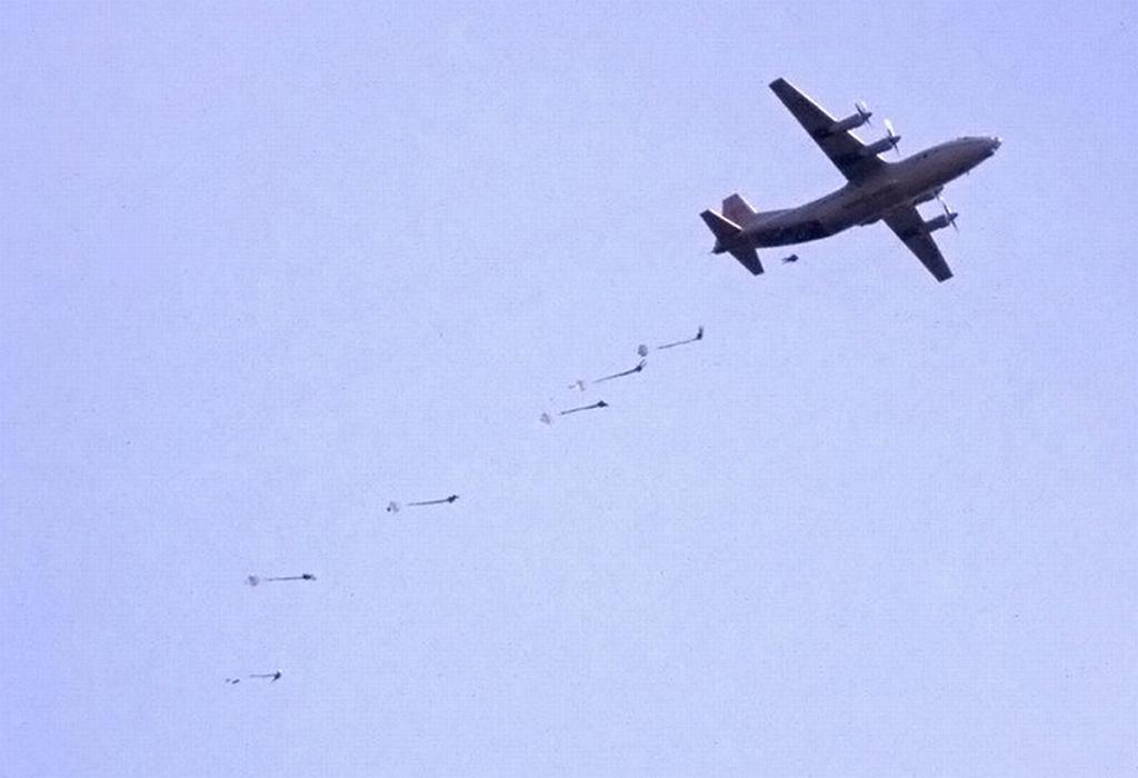Dwóch rosyjskich spadochroniarzy zginęły podczas ćwiczeń na Krymie